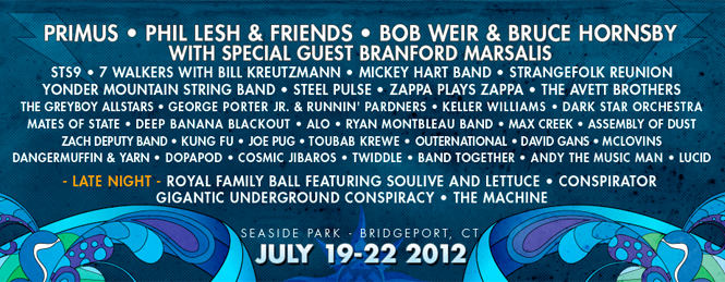 2012 Vibes Line-Up Highlights