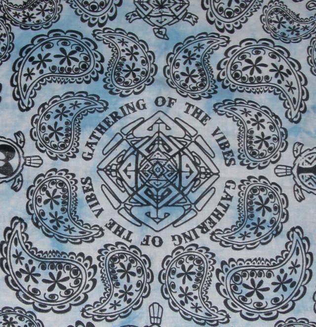 Blue Tie Dye Bandana – VNYS09BALBL