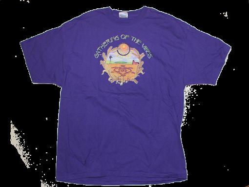 2001 Large Logo w/ Line Up Purple T-Shirt