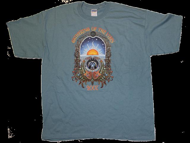2007 Large Logo w/ Line Up Teal T-Shirt
