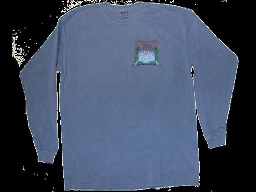 2008 Small Logo Blue Long Sleeve