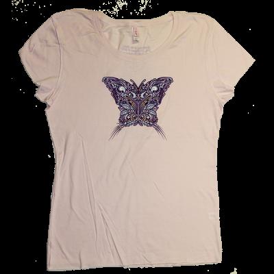 2010 Women's Butterfly Pink T-Shirt