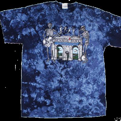 2010 Arches Blue Tie Dye T-Shirt