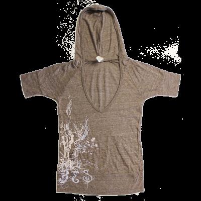 Women's Dancing Skeleton Hoodie T-Shirt