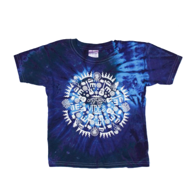 Icon Circle Kid's Tie-Dye T-Shirt